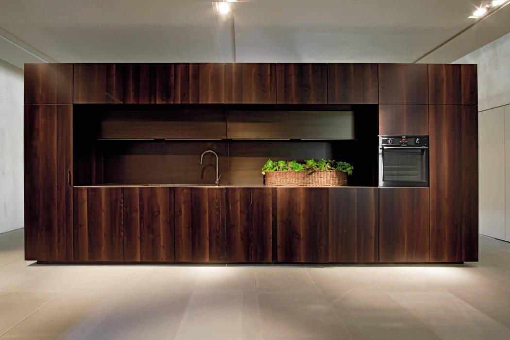 Kitchen Model - HT50 by Eurocasa Minimalist Wood Wood effect