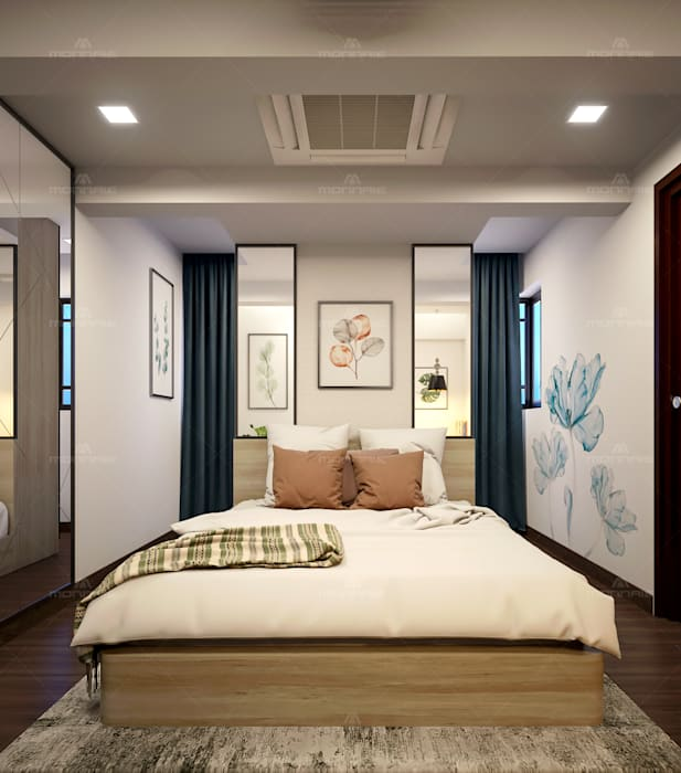 Make Your Royal Bedrooms In Your Home With Wonderful Decorating Ideas Monnaie Interiors Pvt Ltd Asian Style Bedroom Homify