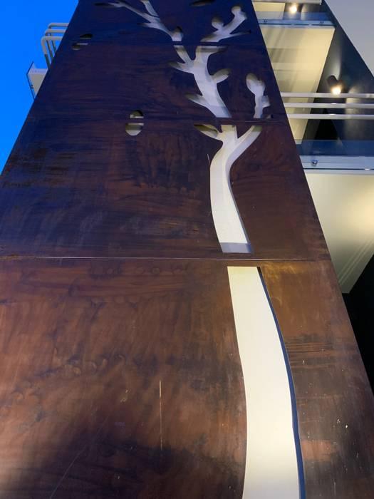 Pannello decorativo di ibedi laboratorio di architettura Moderno Ferro / Acciaio