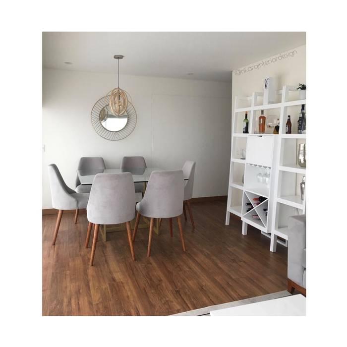 Comedor y Bar Comedores de estilo moderno de NF Diseño de Interiores Moderno