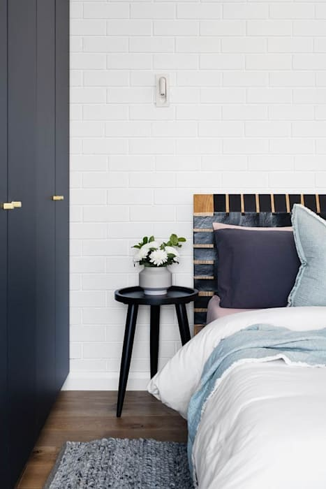 Home Renovation Mediterranean style bedroom by Famewalk Interiors Mediterranean