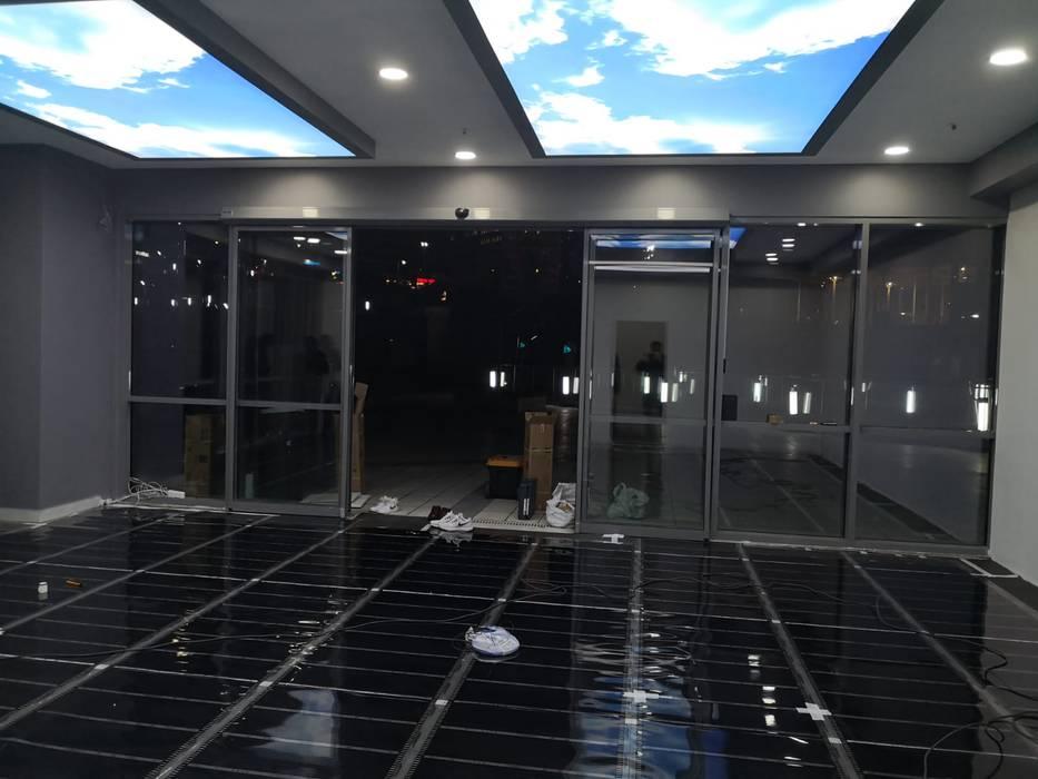 Spor|Yoga salonu parke altı ısıtma uygulaması Şah Zemin & Isıtma Sistemleri Klasik
