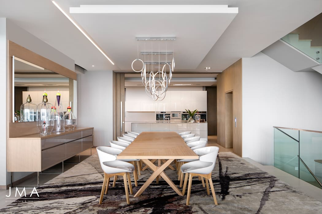 Connected Atlantic Living - Dining Jenny Mills Architects Modern Dining Room