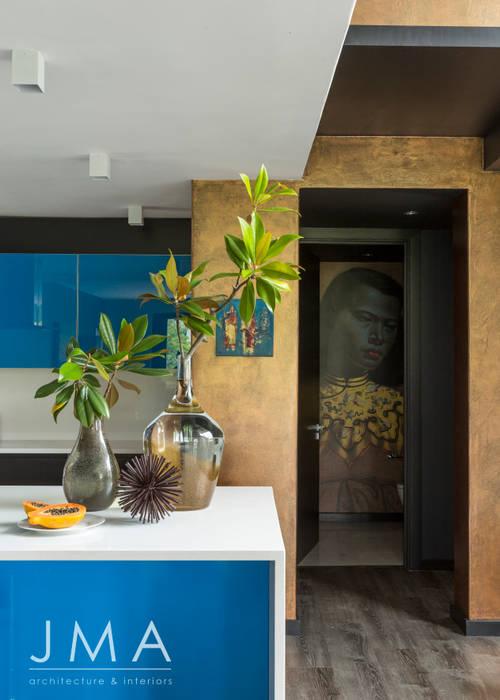 Welgedacht Villa - Kitchen by Jenny Mills Architects Modern
