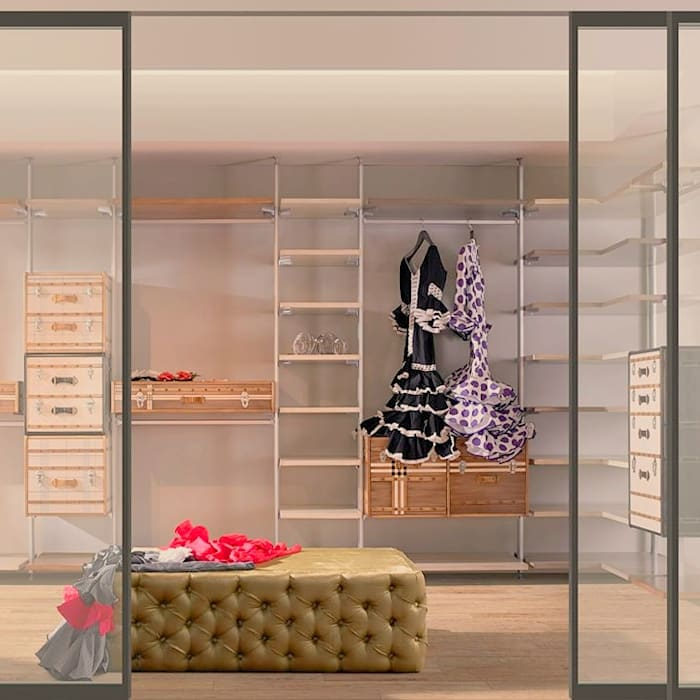 Mobiliari Contract Eclectic style dressing room