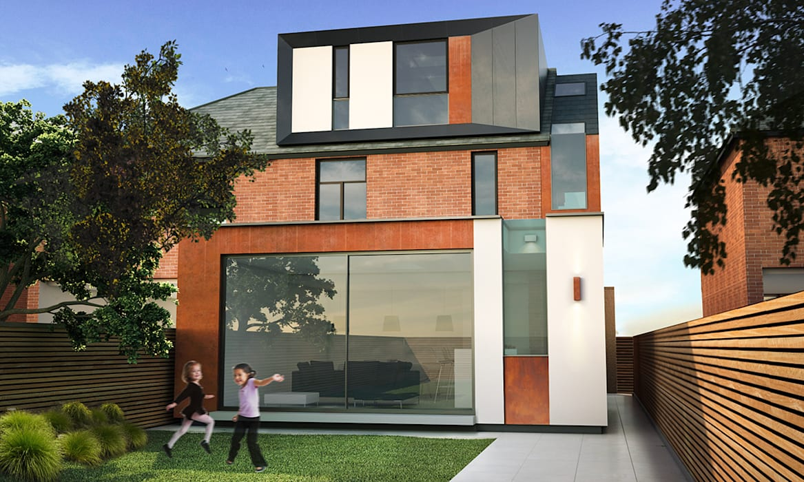 Belwood Road Modern houses by Space Architecture + Planning Modern