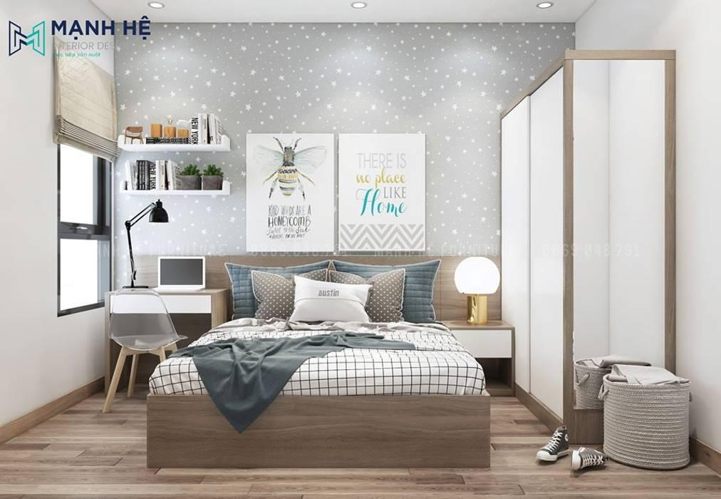 Phòng ngủ cho bé bởi Công ty TNHH Nội Thất Mạnh Hệ Hiện đại Bần