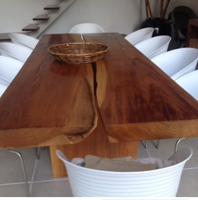 Camacã Design em Madeira Dining roomTables Parket