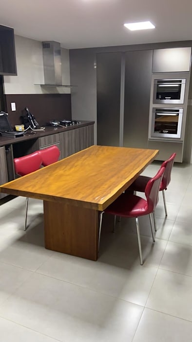Camacã Design em Madeira KitchenTables & chairs Kayu