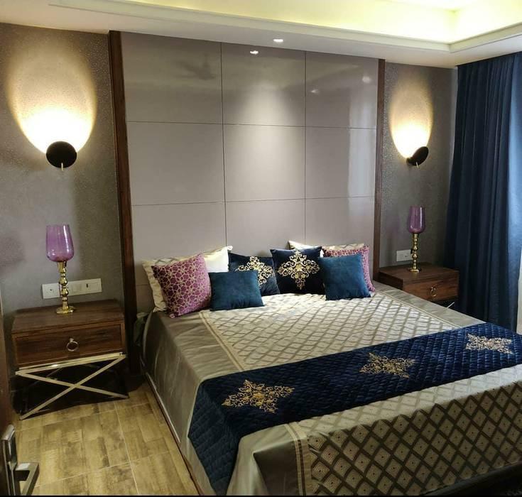 Modern Bed Room Interior White Cube Designs