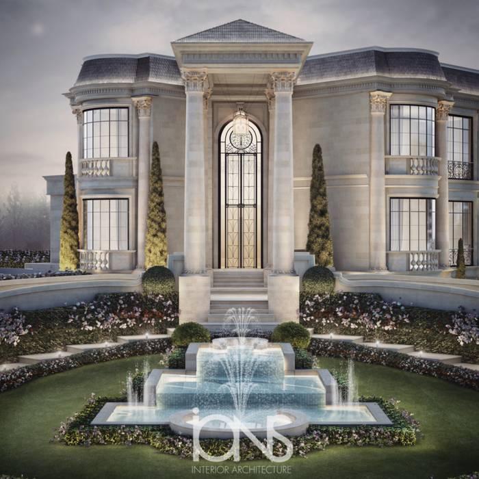 Enchanting Architectural Design IONS DESIGN Villas Stone White