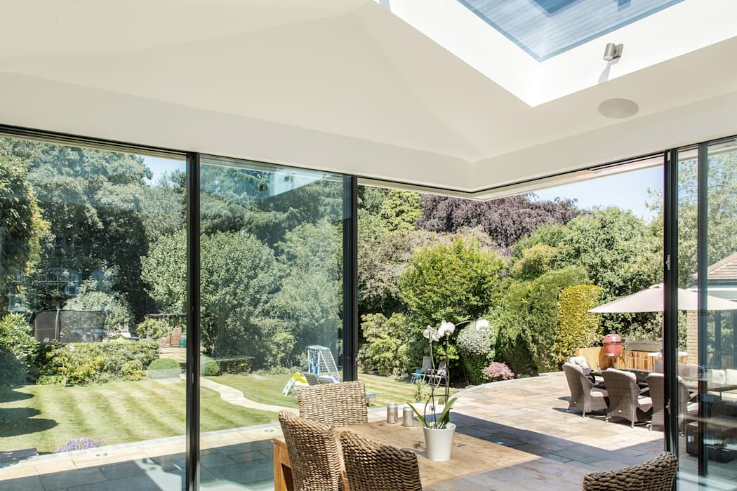Rear Extension Modern dining room by RS Architects Modern