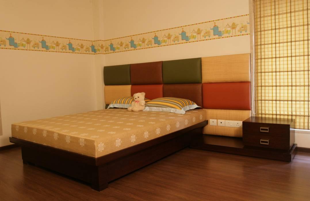 Kid S Room Bed Upholstered Headboard Design Rich Aki Boys Bedroom Mdf Multicolored Homify