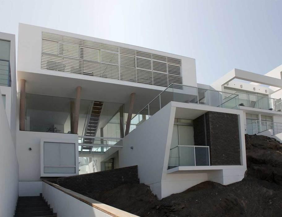 Casa de playa en Asia de Esarquitectura Moderno Concreto