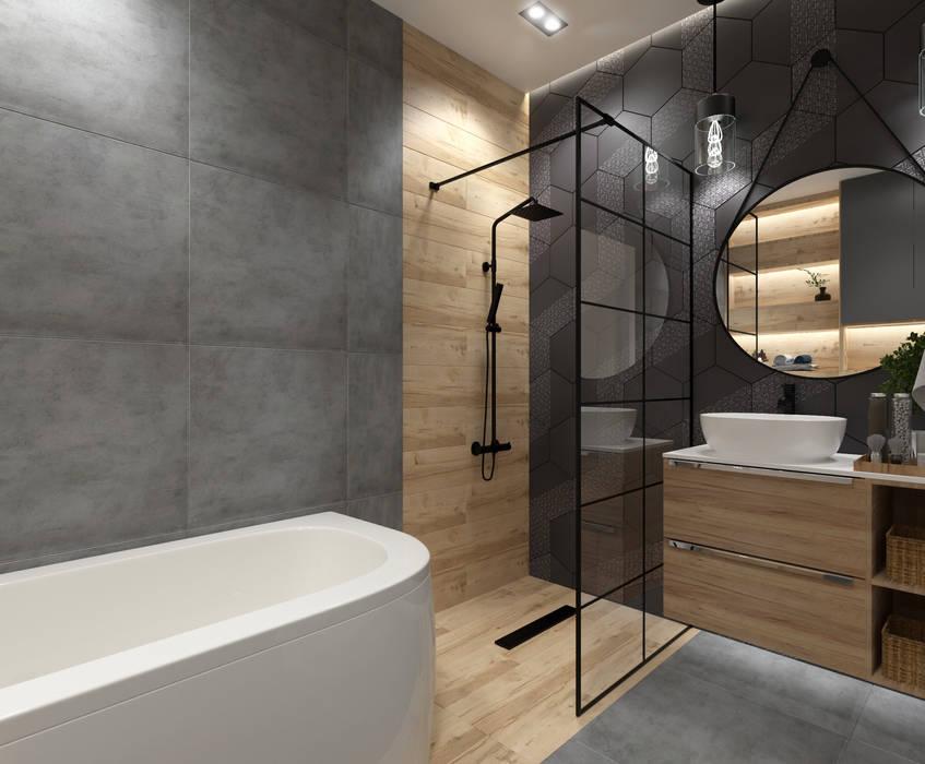 Modern bathroom by Senkoart Design Modern