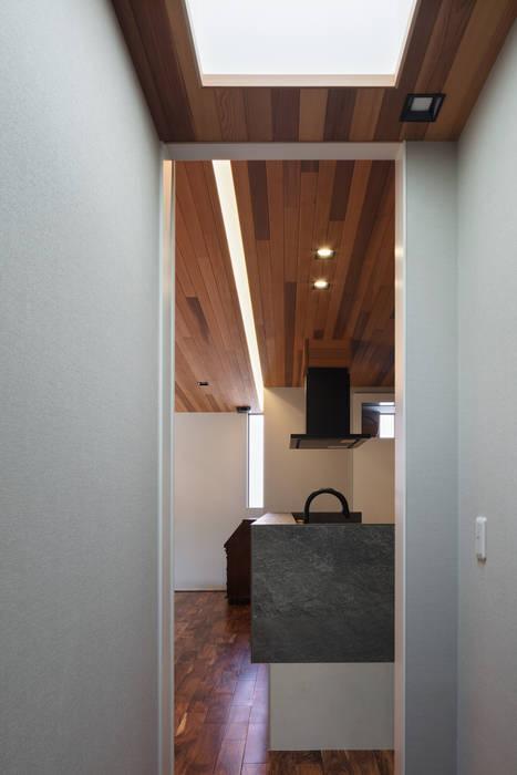 K18-house「Terrace House」 モダンな キッチン の Architect Show Co.,Ltd モダン