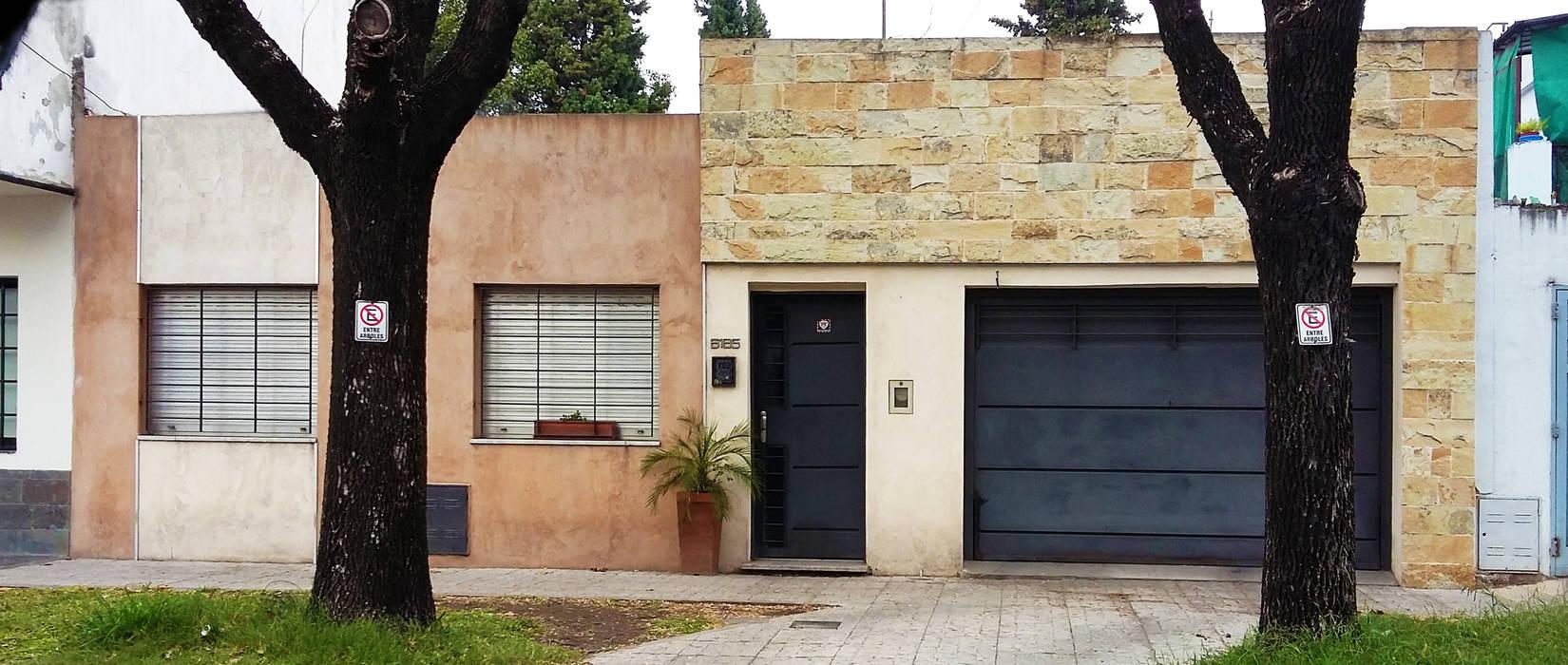 frente ELVARQUITECTOS Casas unifamiliares Piedra