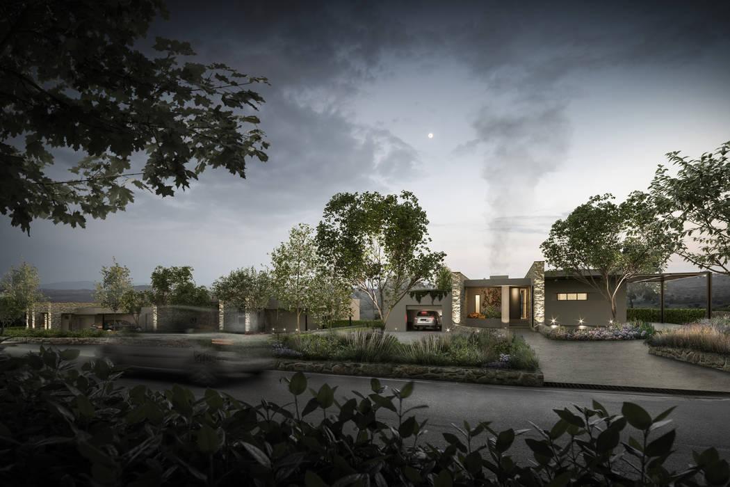 Abitazione 149 – Chianti Case moderne di Soffici e Galgani Architetti Moderno