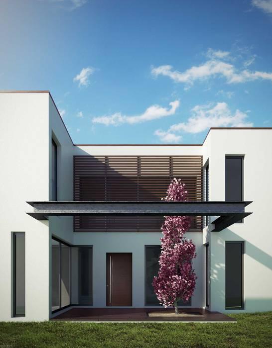 Savyon Houses Case moderne di Vincenzo Migliaccio architetto Moderno