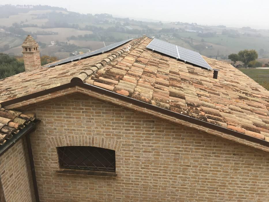Installazione impianto fotovoltaico di Ing. Andrea Catena Rurale