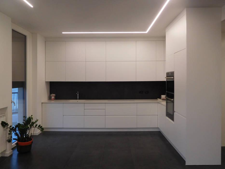 Ingresso Studio di Architettura IATTONI CucinaPiani di lavoro