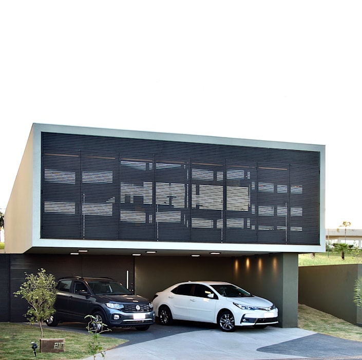 D arquitetura Terrace house Iron/Steel Black