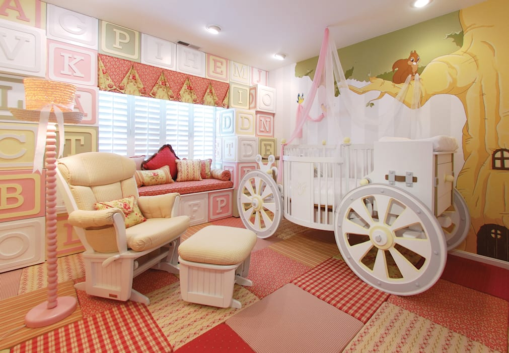 Carriage Crib Nursery Adaptiv DC Baby room Wood White