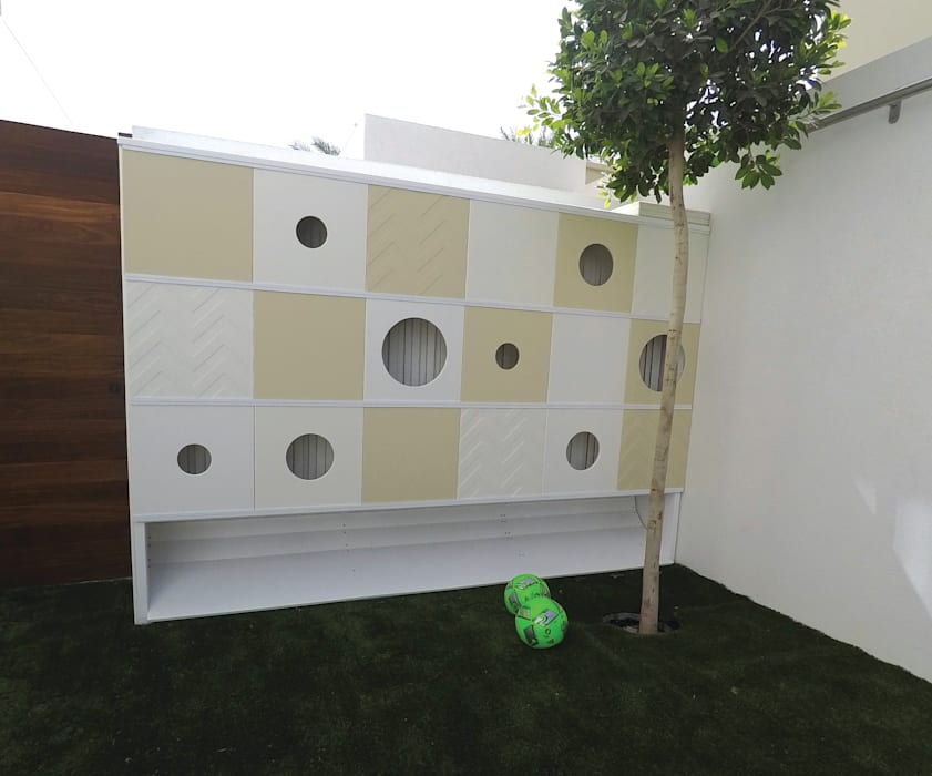 Contemporary Outdoor Playground Modern Kid's Room by Adaptiv DC Modern Metal