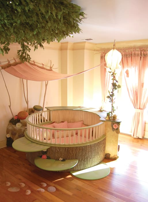 Fairyland Bedroom Adaptiv DC Girls Bedroom Wood Beige