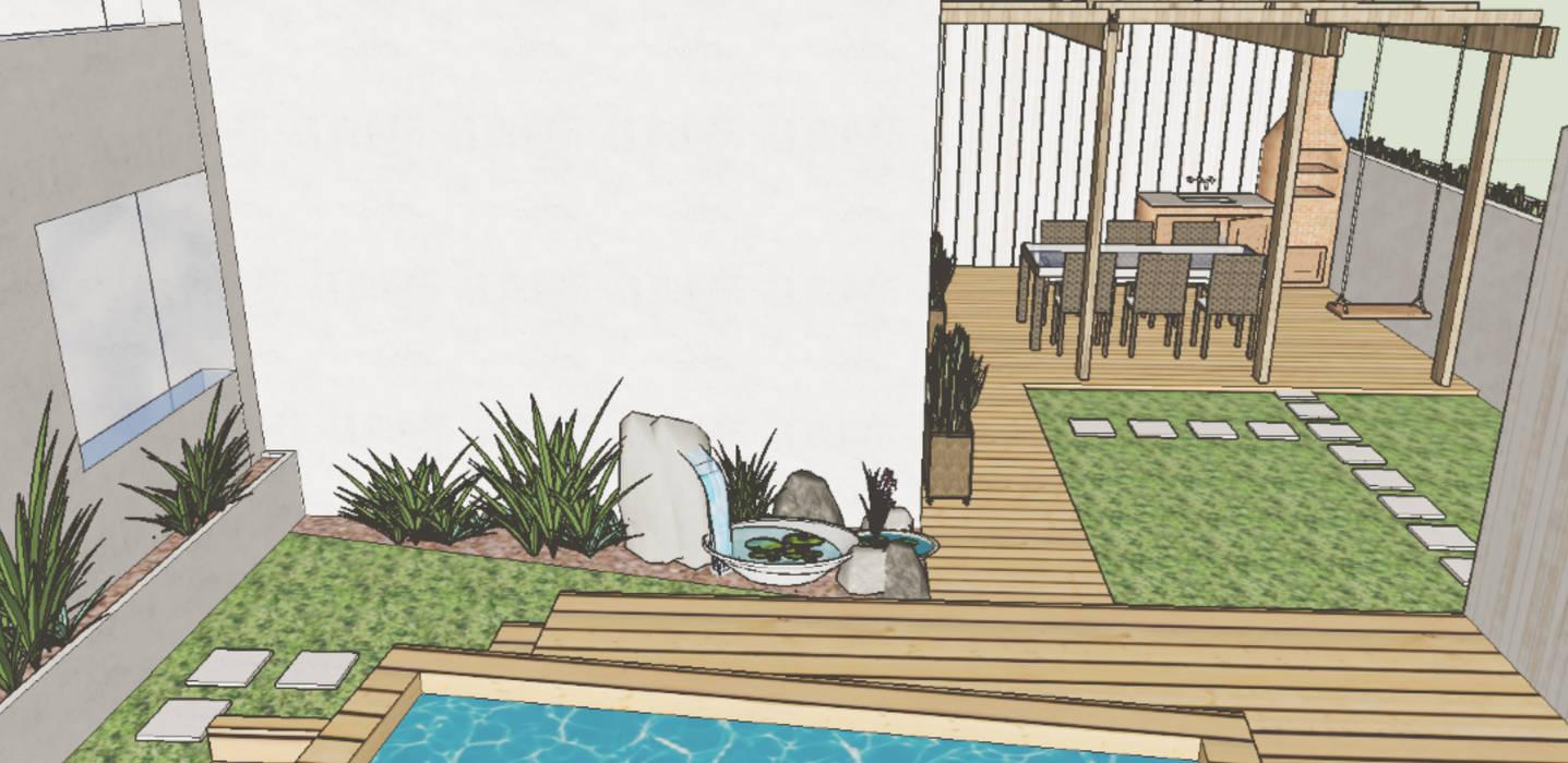 Mem Martins Jardins modernos por BAMBOH Moderno