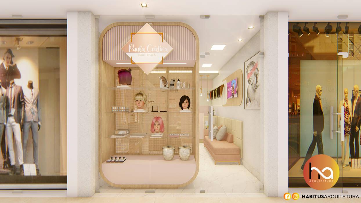 01 Espaços comerciais modernos por Habitus Arquitetura Moderno MDF