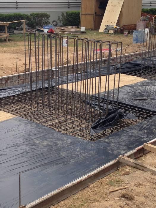 BMP Arquitectos Lantai Beton Bertulang