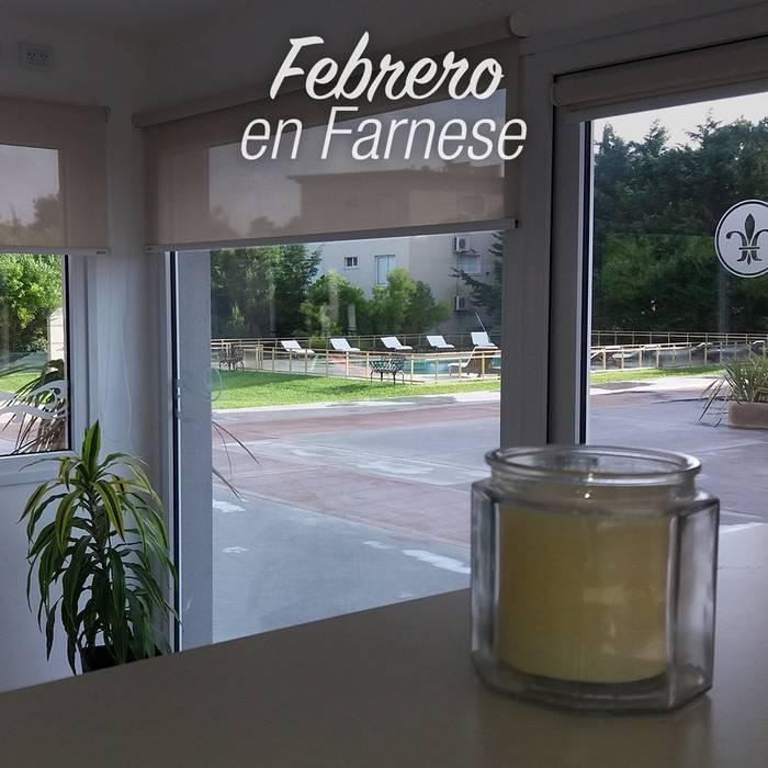 Estores enrollables Hotel Farnese DIVERSA INTERIORISMO Puertas y ventanasCortinas