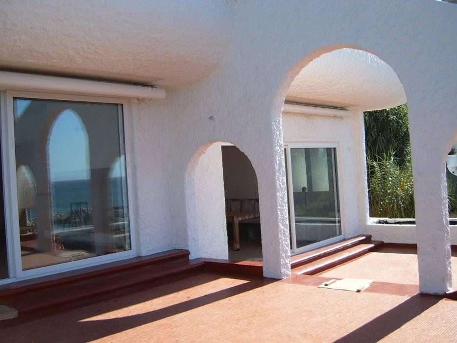 Remodelación departamento Balcones y terrazas mediterráneos de Decorinter.cl Mediterráneo Concreto