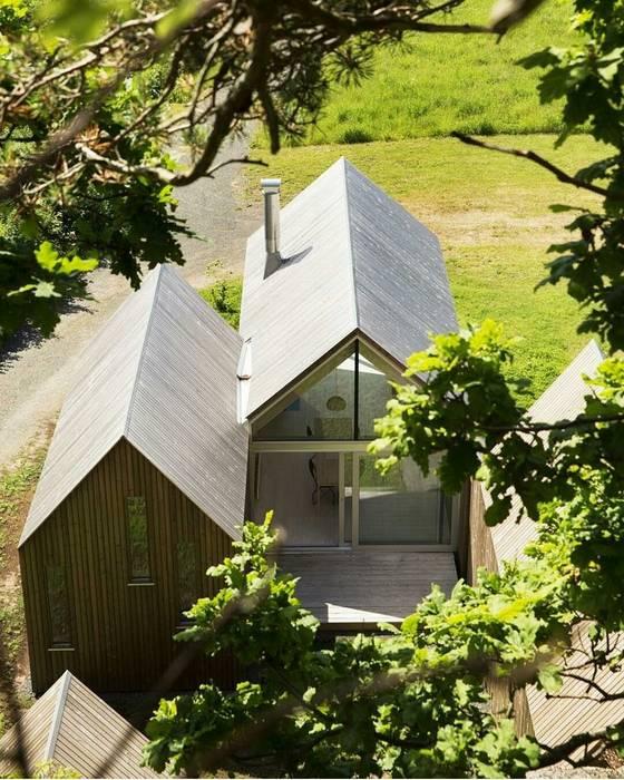 Casa in legno passiva Green Living Ltd Casa passiva Legno massello