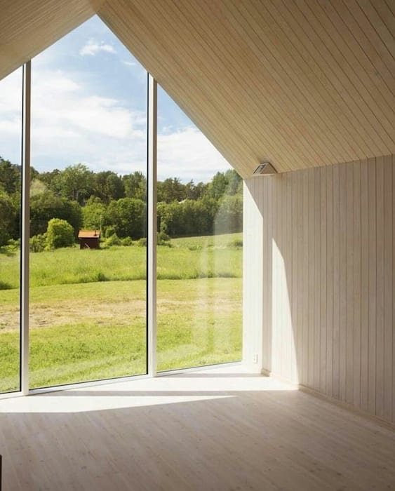 Green Living Ltd Modern Windows and Doors Solid Wood