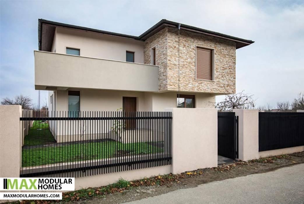 por Modular Homes Moderno Betão
