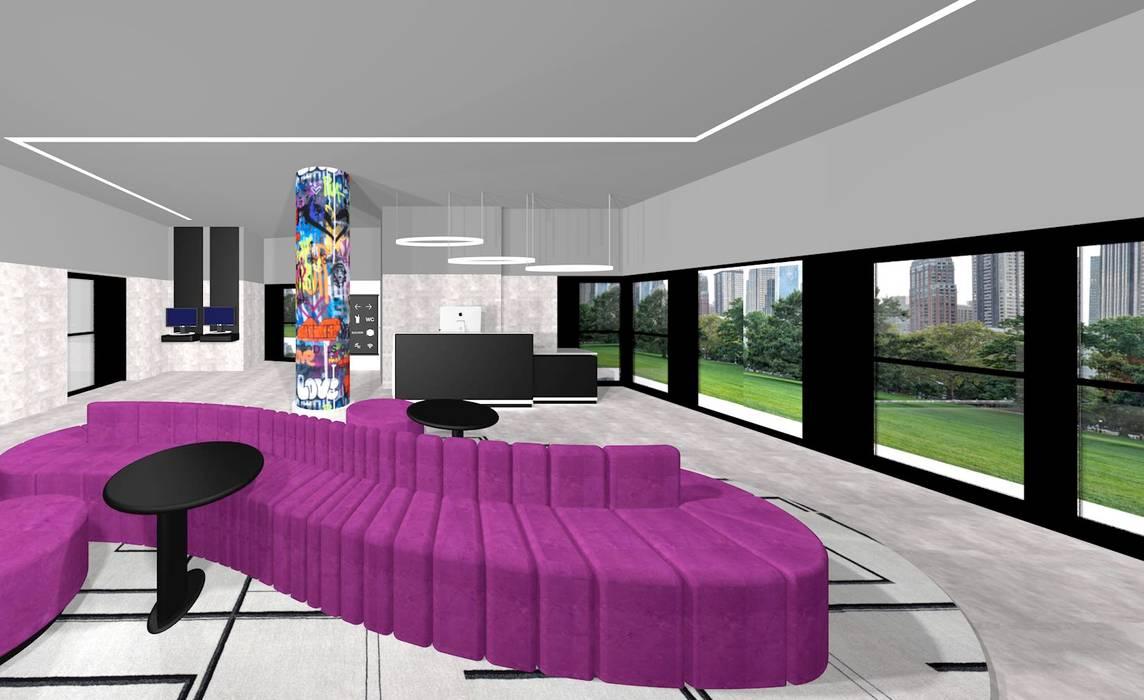 Ro Pinheiro Estudios y despachos de estilo moderno