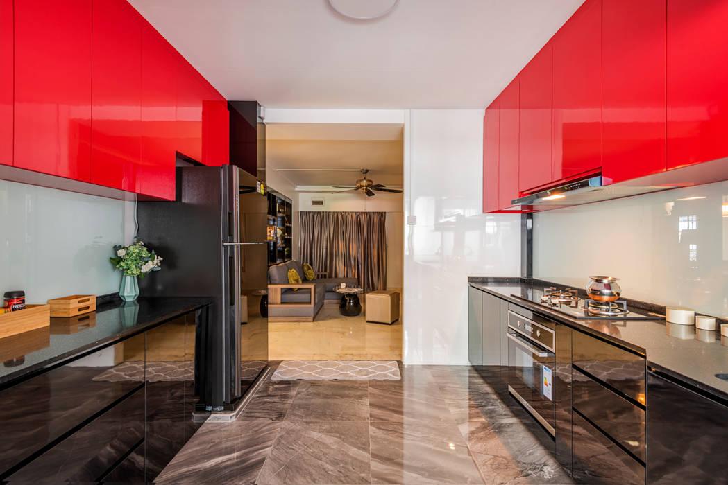 E modern Interior Design Lantai