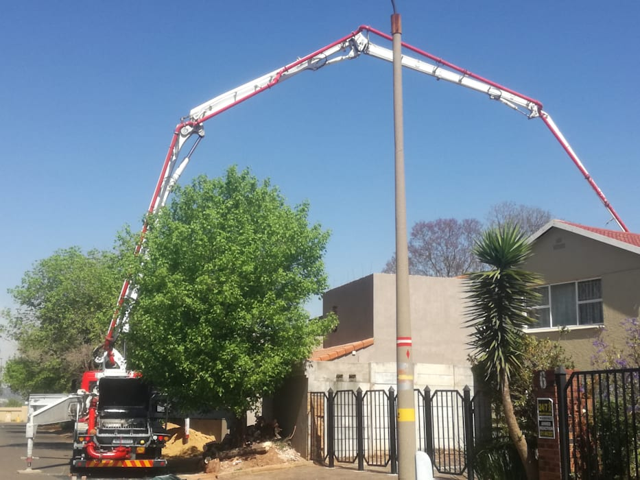 Concrete pumping,pouring and levelling by Afrisom Projects Pty Ltd Modern