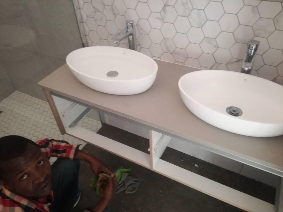 Handbasins Design Ideas Afrisom Projects Pty Ltd Modern bathroom
