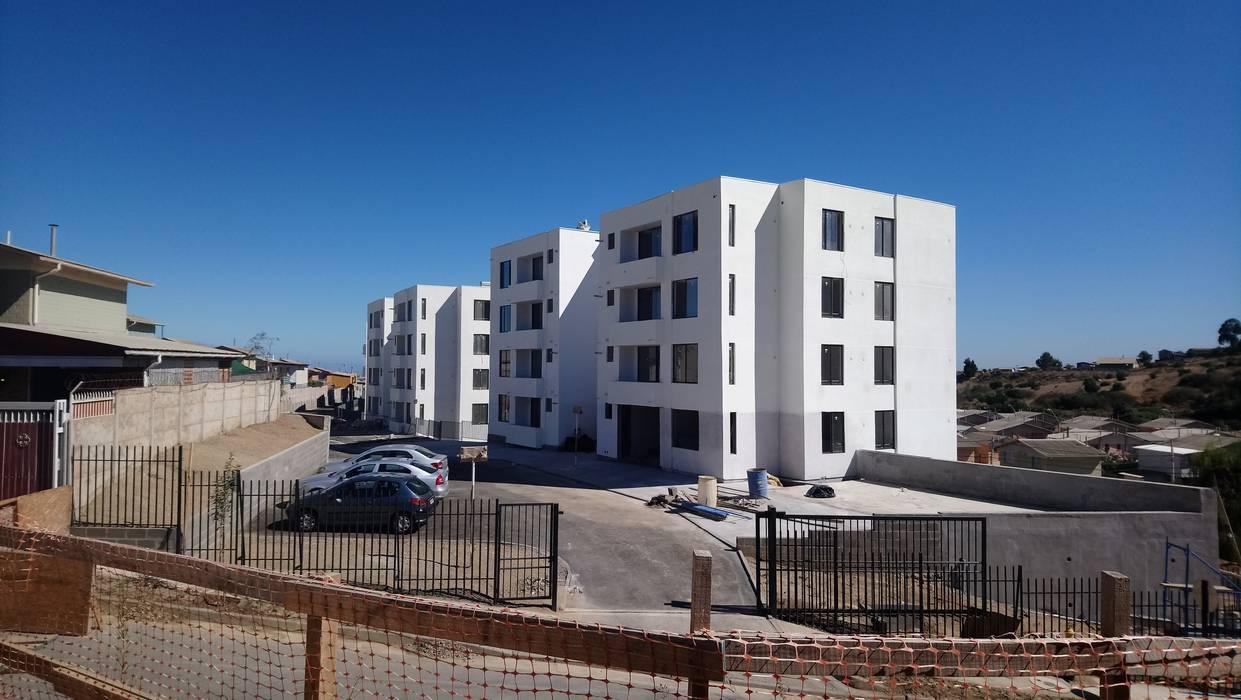 Condominio Lomas de Rukán Casas estilo moderno: ideas, arquitectura e imágenes de A2R Arquitectura Moderno