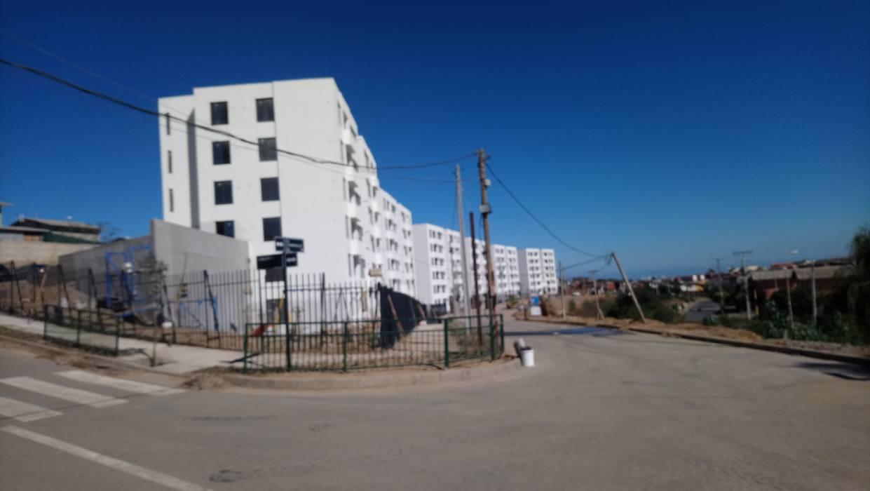 Condominio Lomas de Rukán de A2R Arquitectura Moderno Concreto