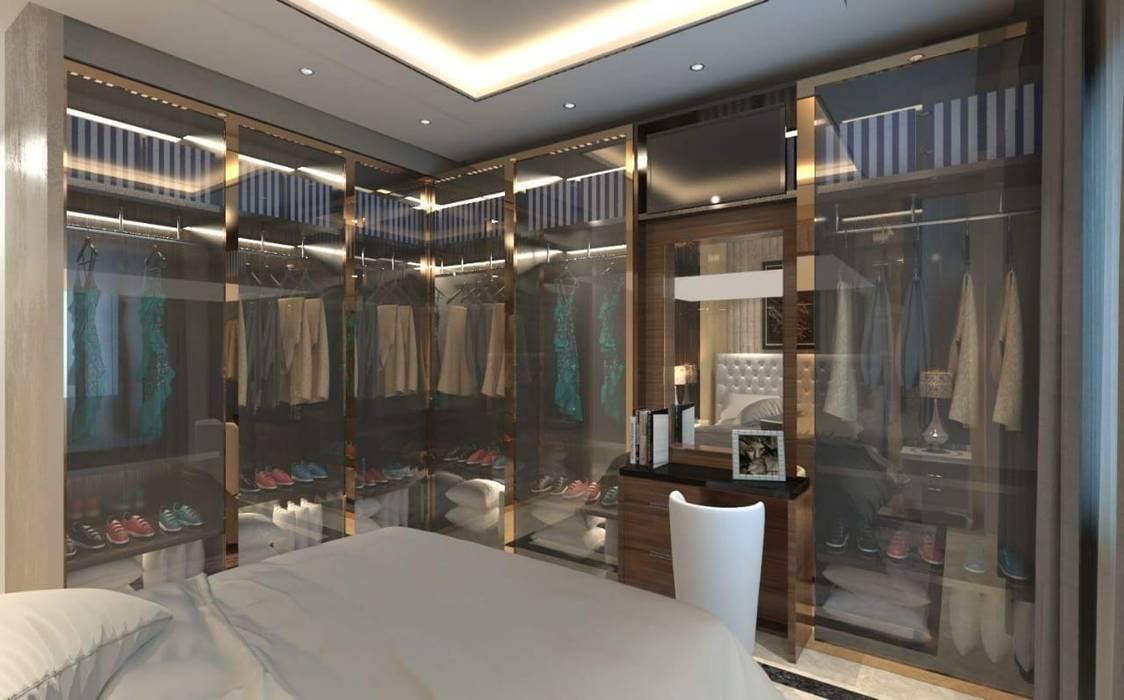 غرفة ملابس مودرن وحديثة من ArchiSton حداثي