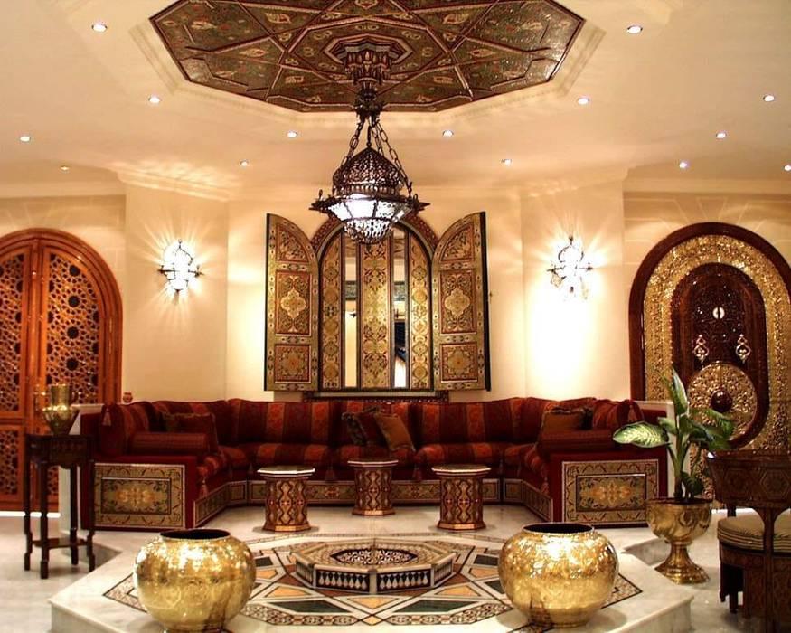 التصميم الداخلى لغرف ومجالس عربية حديثة من ArchiSton كلاسيكي
