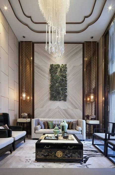 التصميم الداخلى لغرف ومجالس عربية حديثة من ArchiSton تبسيطي