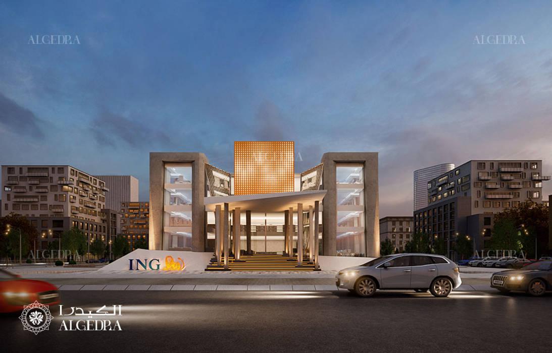 Modern building architecture design by Algedra Interior Design Modern