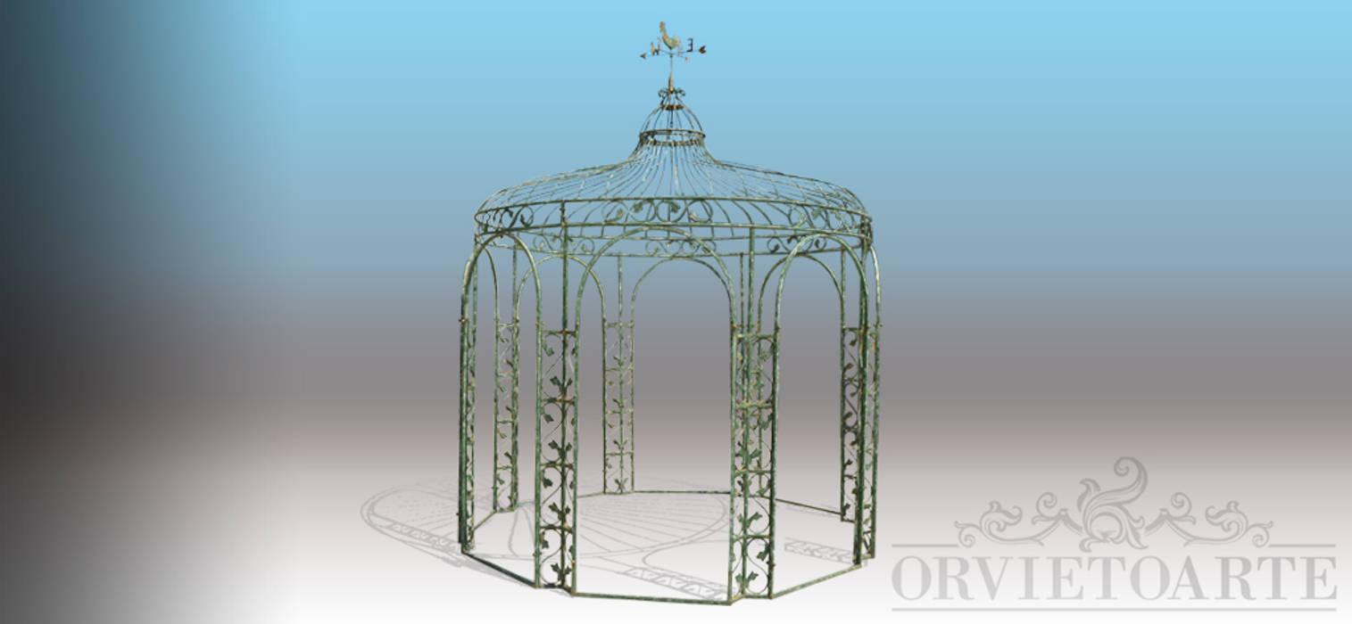Orvieto Arte Modern Garden Iron/Steel Green