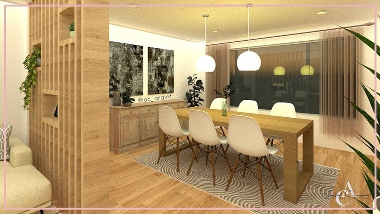 Arisu Cavero - Arquitectura de Interiores Modern dining room