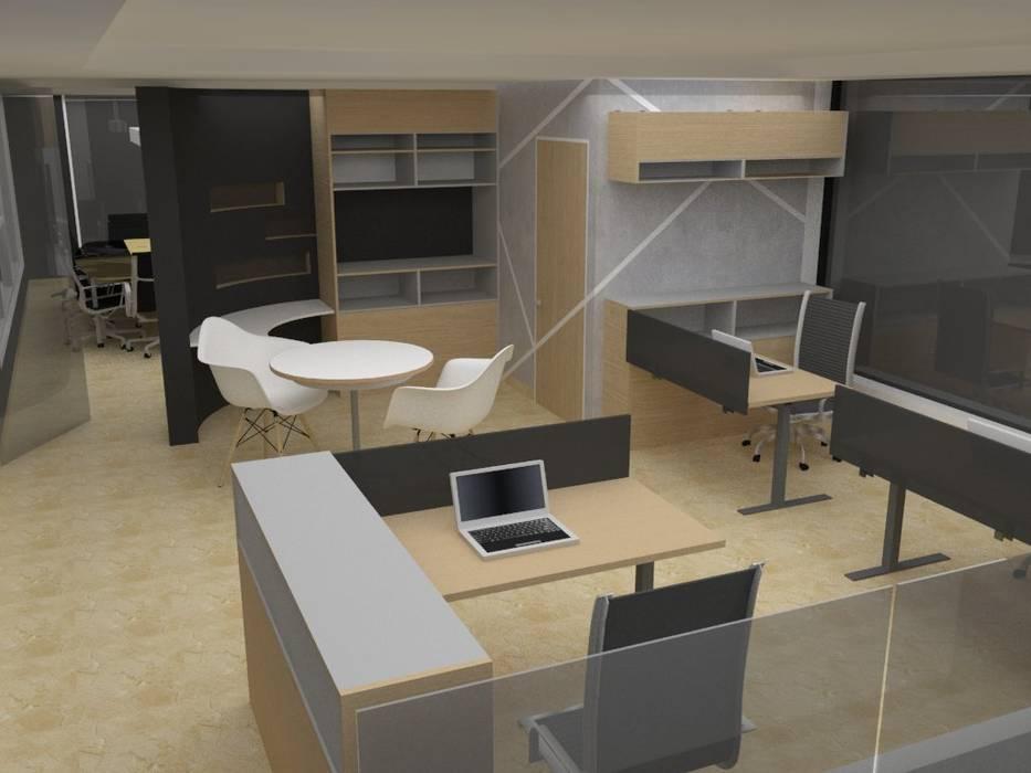 Módulos de Oficinas de MAS ARQUITECTURA1 - Arq. Marynes Salas Moderno
